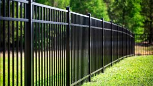 aluminium slat fencing based in Perth western Australia. Suburb of Duncraig where the fence contractors were able to instal and new fence in under 24 hours