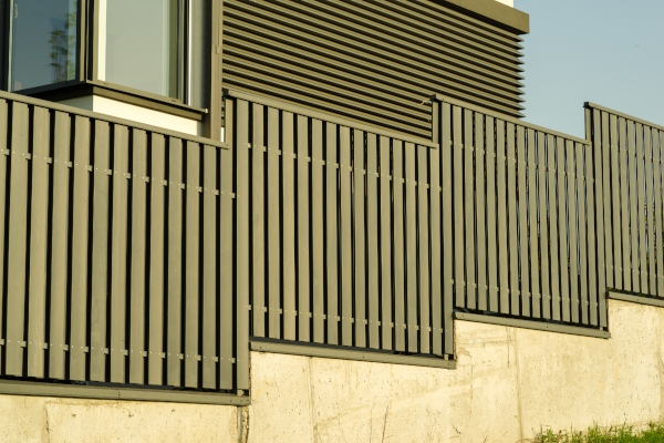 aluminium fencing perth and timber style fencing in South Perth